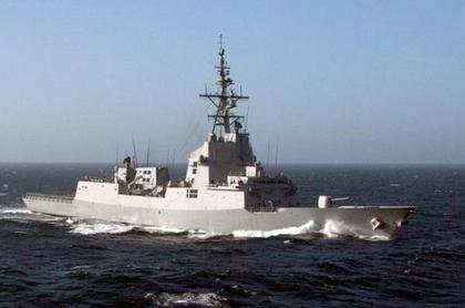 Ein Schlachtschiff gegen die Piraten