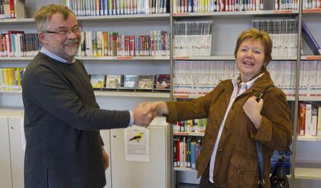 Herr Burkhardt und Frau Tollrian
